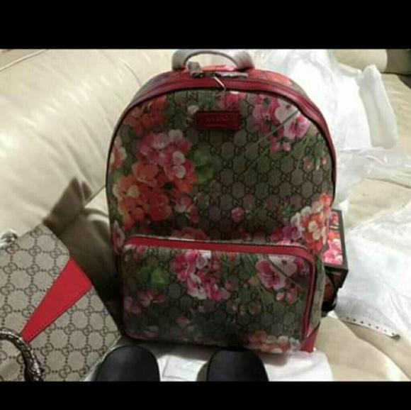 0fa9ae27382 Bags   Gucci Floral Backpack High Quality   Poshmark